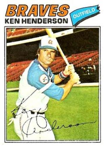 Photo of 1977 Topps #242 Ken Henderson
