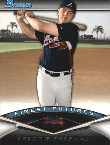 Photo of 2011 Bowman Finest Futures #FF10 Freddie Freeman