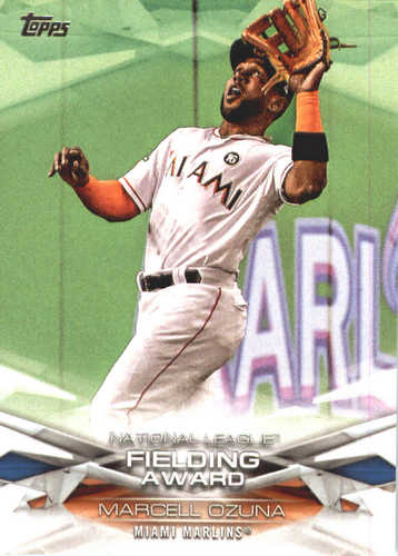 Photo of 2018 Topps MLB Awards #MLBA25 Marcell Ozuna