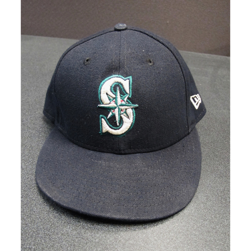 Photo of James Paxton Team-Issued Navy Cap 2017. Cap Size - 7 1-8