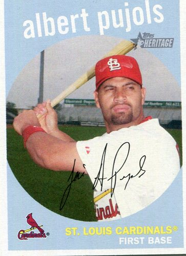 Photo of 2008 Topps Heritage #150 Albert Pujols