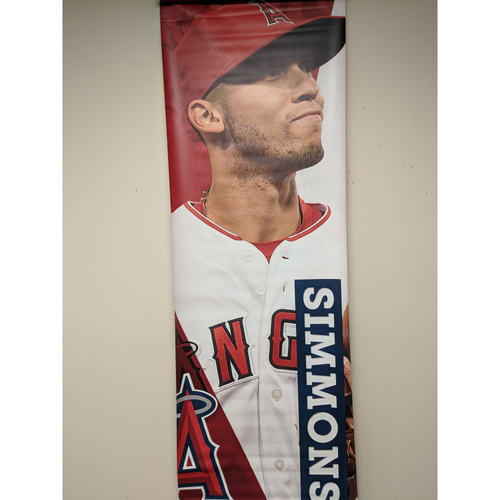 Photo of Andrelton Simmons Team-Issued Street Banner