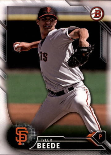 Photo of 2016 Bowman Draft #BD182 Tyler Beede