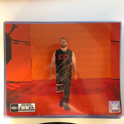 Photo of Kevin Owens SIGNED 8 x 10 Limited Edition WrestleMania Photo (Random Number)