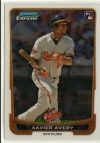 Photo of 2012 Bowman Chrome Draft #34 Xavier Avery RC