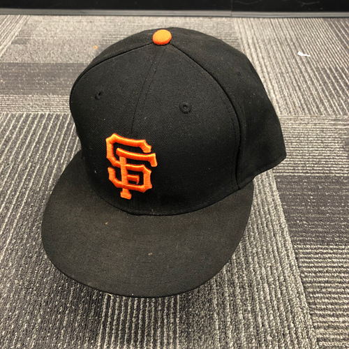 Photo of 2015 Team Issued Regular Season Cap - #1 Ehire Adrianza - Size 7 3/8