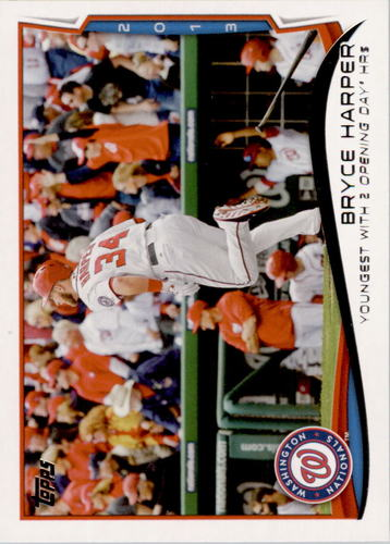 Photo of 2014 Topps #390 Bryce Harper
