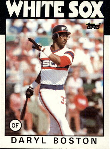 Photo of 1986 Topps #139 Daryl Boston