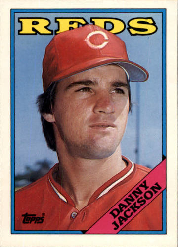Photo of 1988 Topps Traded #55T Danny Jackson