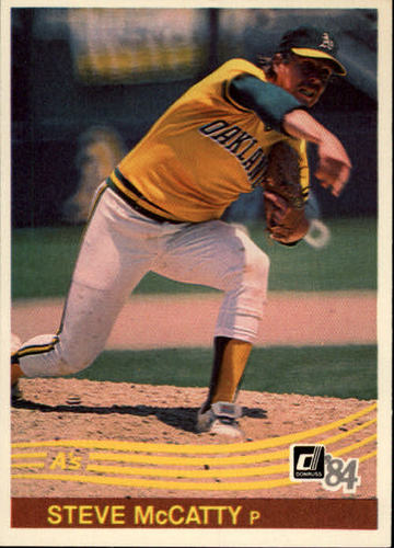 Photo of 1984 Donruss #420 Steve McCatty