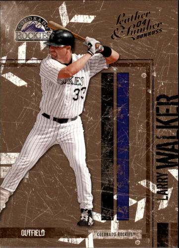 Photo of 2004 Leather and Lumber #47 Larry Walker