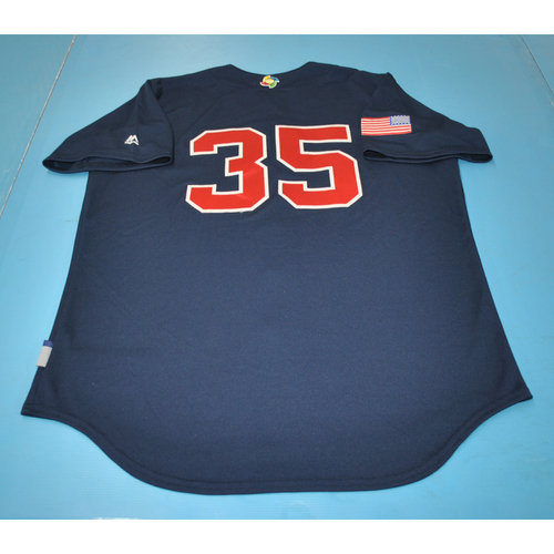 Photo of 2017 World Baseball Classic Batting Practice Jersey - Eric Hosmer - USA (Size L)
