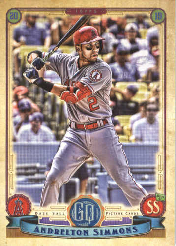 Photo of 2019 Topps Gypsy Queen #207 Andrelton Simmons
