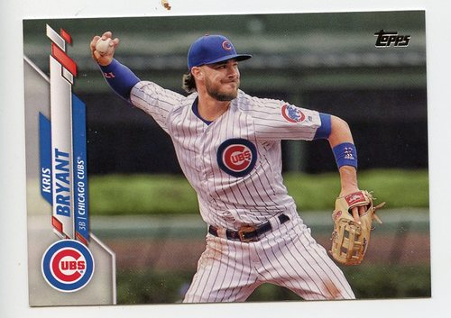 Photo of 2020 Topps #455 Kris Bryant