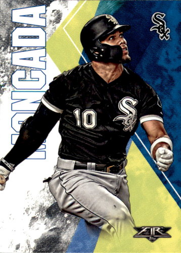 Photo of 2019 Topps Fire #175 Yoan Moncada