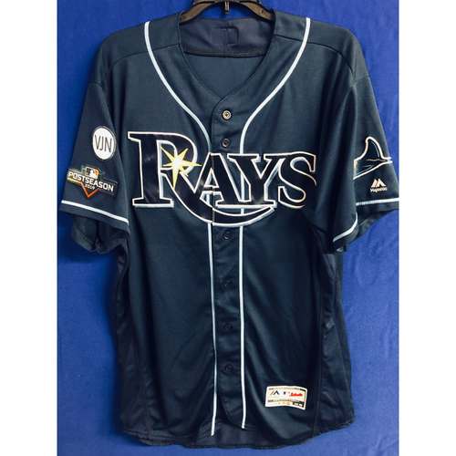 Photo of Team Issued Postseason Alternate Navy Jersey - 2019