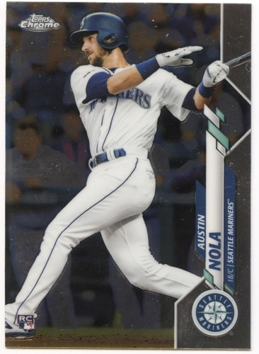 Photo of 2020 Topps Chrome #11 Austin Nola RC