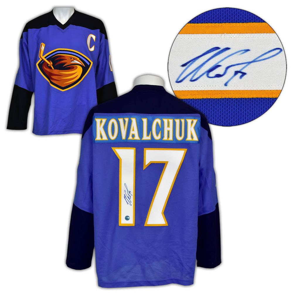 Ilya Kovalchuk Atlanta Thrashers Autographed Practice Jersey