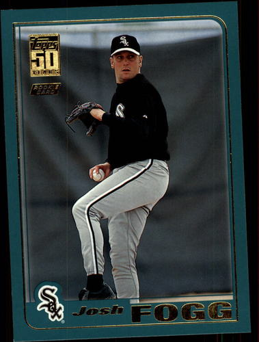 Photo of 2001 Topps Traded #T221 Josh Fogg RC