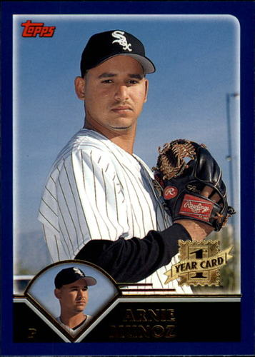 Photo of 2003 Topps Traded #T203 Arnie Munoz FY RC