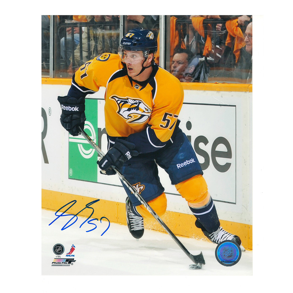 GABRIEL BOURQUE Signed Nashville Predators 8 X 10 Photo - 70458