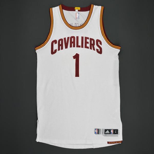 James Jones - Cleveland Cavaliers - White Playoffs Game-Worn ...