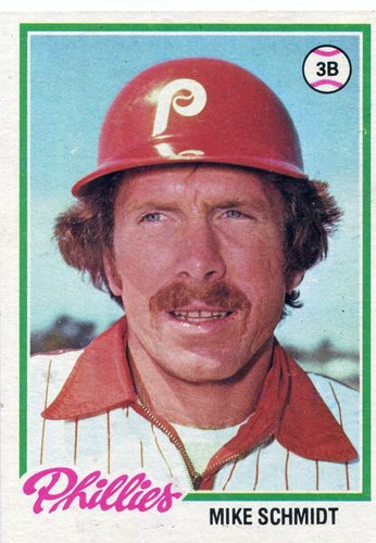 Photo of 1978 Topps #360 Mike Schmidt -- Hall of Famer