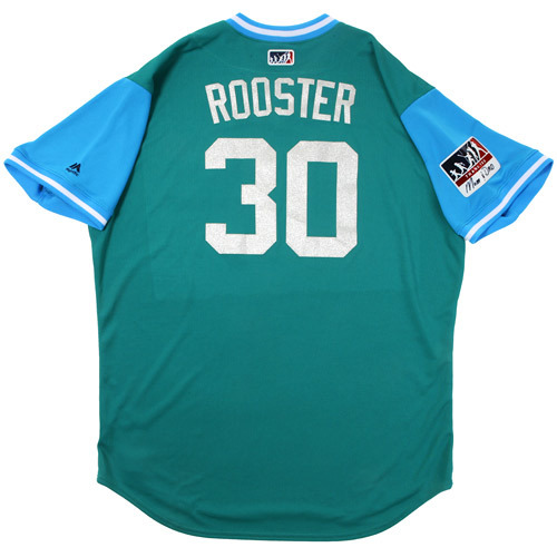 "Photo of Mel ""Rooster"" Stottlemyre Seattle Mariners Game-Used Players Weekend Jersey"