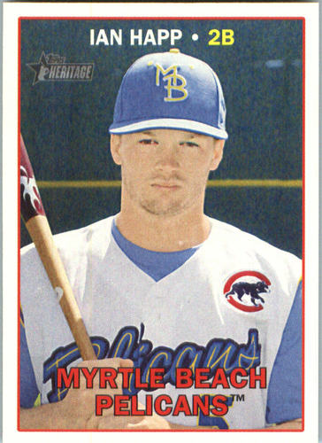 Photo of 2016 Topps Heritage Minors #85 Ian Happ Cubs post-season