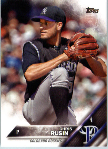 Photo of 2016 Topps #486 Chris Rusin