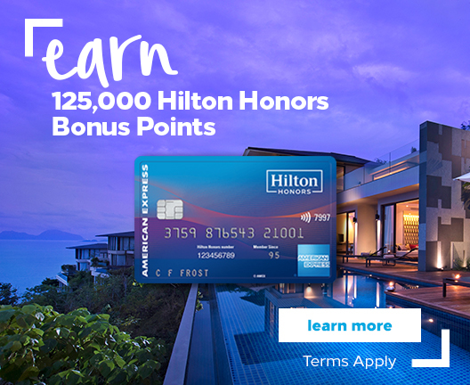 Earn 100,000 Hilton Honors Bonus Points - Learn More