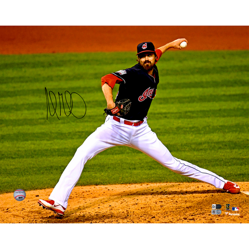 """Photo of Andrew Miller Cleveland Indians Autographed 16"""" x 20"""" Photo"""