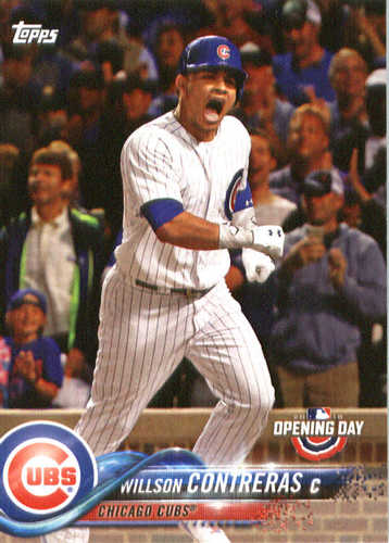 Photo of 2018 Topps Opening Day #23 Willson Contreras