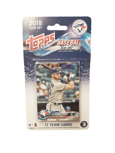Toronto Blue Jays 2018 Team Set Baseball Cards by Topps