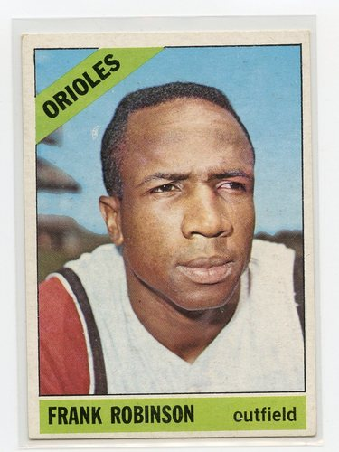 Photo of 1966 Topps #310 Frank Robinson -- Hall of Fame Class of 1982