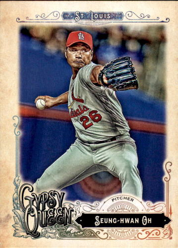 Photo of 2017 Topps Gypsy Queen #133 Seung-hwan Oh