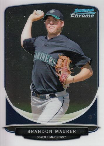 Photo of 2013 Bowman Chrome Prospects #BCP22 Brandon Maurer