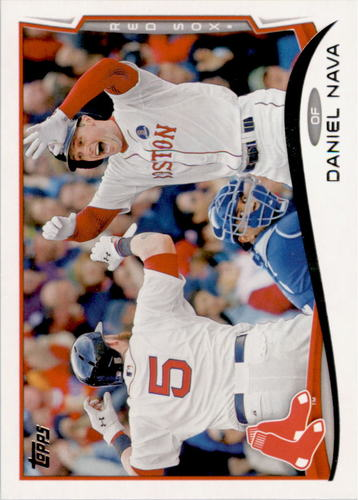 Photo of 2014 Topps #362 Daniel Nava