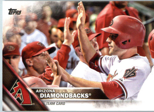 Photo of 2016 Topps #568 Arizona Diamondbacks