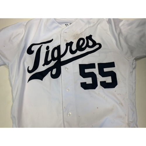 Game-Used Fiesta Tigres Jersey: John Hicks