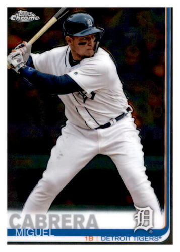 Photo of 2019 Topps Chrome #115 Miguel Cabrera