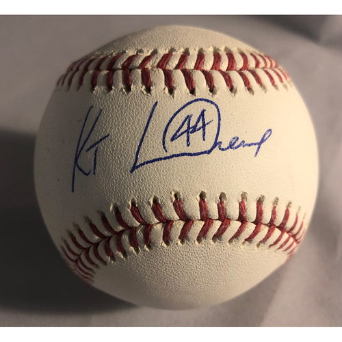 Photo of Kenny Landreaux Authentic Autographed Baseball