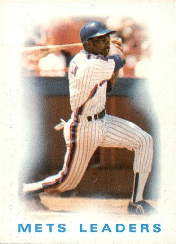 Photo of 1986 Topps #126 Mets Leaders/Mookie Wilson