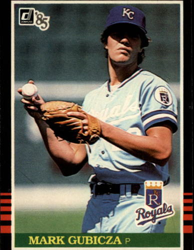 Photo of 1985 Donruss #344 Mark Gubicza RC