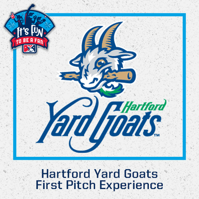 Hartford Yard Goats First Pitch Experience
