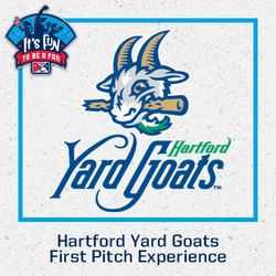 Photo of Hartford Yard Goats First Pitch Experience