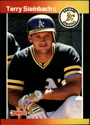 Photo of 1989 Donruss #268 Terry Steinbach