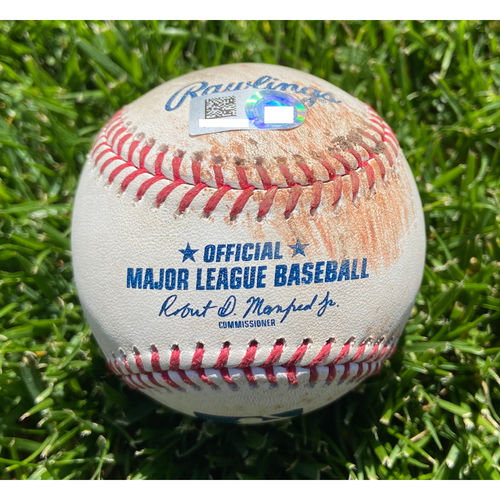 Photo of Cardinals Authentics: Game Used Baseball Pitched by John Gant to Luis Rengifo *Ball In Dirt* *Pujols Return to St. Louis*