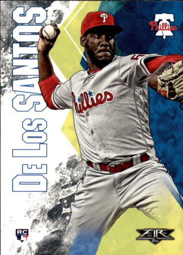 Photo of 2019 Topps Fire #75 Enyel De Los Santos RC