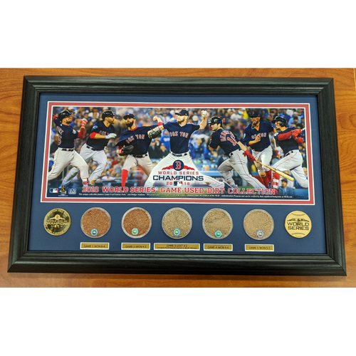 2018 World Series Limited Edition Game Used Dirt Collection